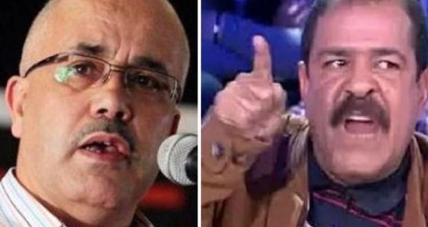 الشهيد شكري بلعيد يطرد رضا بالحاج من جندوبة