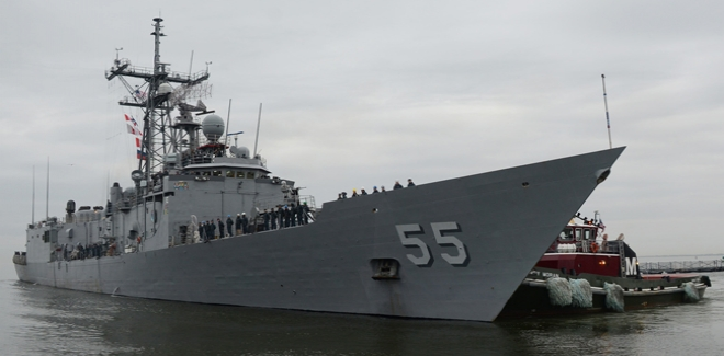 تدريبات بين الوحدات البحرية التونسية والأمريكية