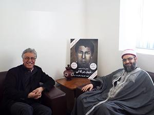 مالذي دار بين حمّه الهمامي والشيخ فريد الباجي ؟