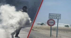 جلمة: الأهالي ينددون بأعمال العنف ويطالبون بتكثيف الأمن