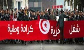 أمام وزارة الصناعة: 3 شبان يهددون بإحراق أنفسهم للمطالبة بالتشغيل