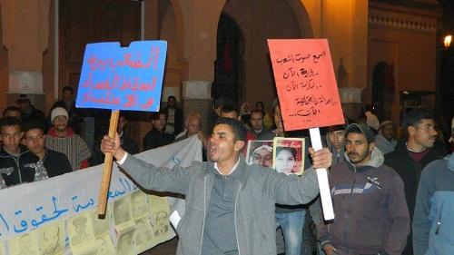 وفاة غامضة لأحد نشطاء حركة 20 فبراير