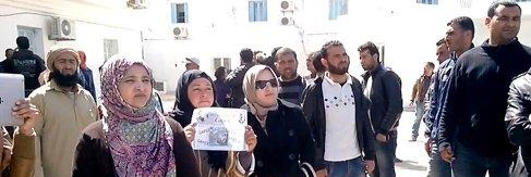مدنين: أصحاب الشهائد العليا يحتجّون