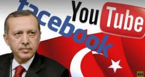تركيا: أردوغان يُهدّد بحظر يوتيوب وفايسبوك