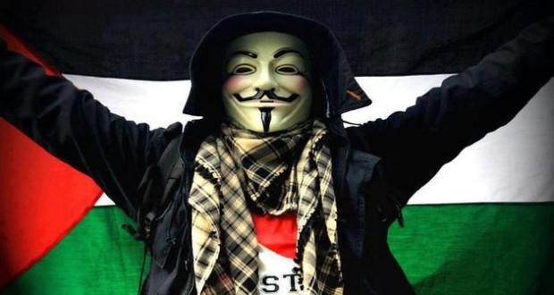 من جديد الأنونيموس يهاجمون مواقع وزارات ومنظمات صهيونية