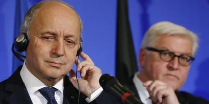 وزيرا الخارجية الألماني والفرنسي يلتقيان الأحزاب ومكوّنات المجتمع المدني