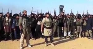 """أبو عياض يلتقي بعدد من مقاتلي """"داعش"""""""