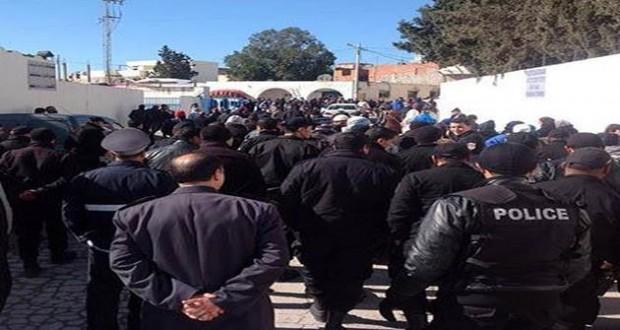 القيروان: الأمنيون يحتجّون غدا