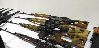 32 قطعة سلاح بعضها قتالية على متن باخرة قادمة من مرسيليا