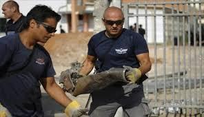 إصابات في سقوط صاروخ على محطة وقود في جنوب الكيان الصهيوني