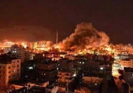 غزّة: الطيران الحربي الصهيوني يواصل عدوانه