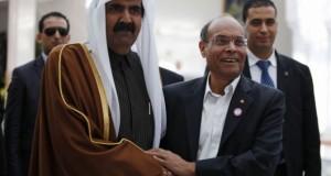 المرزوقي يطلب من قطر الضغط على النهضة لتزكيته والدفع به إلى صدارة الاختيار التوافقي