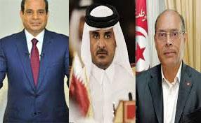 """قطر تطالب جهات سياسية تونسية بتخفيف """"حدّة خطابها"""" تجاه مصر!!"""