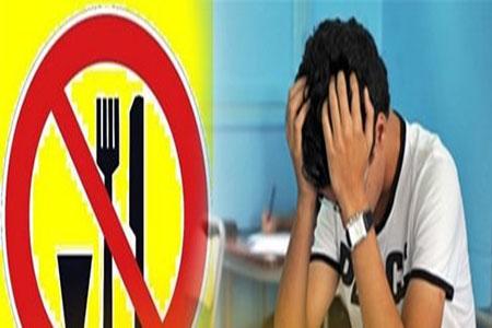 الكاف: تلاميذ الباكالوريا يُضربون عن الطعام ويُهدّدون بإضراب جوع وحشي