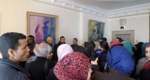 اعتصام مربّي الطفولة المعطّلين أمام وزارة المرأة