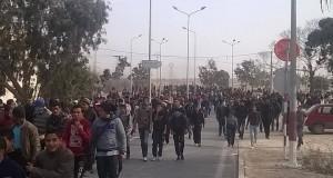 بعد عدّة مواجهات وإيقافات أهالي المطوية ينفذّون إضرابا عاما