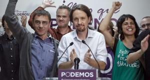 على خطى سيريزا باليونان، حزب بوديموس يقلب  الخارطة السياسية في اسبانيا