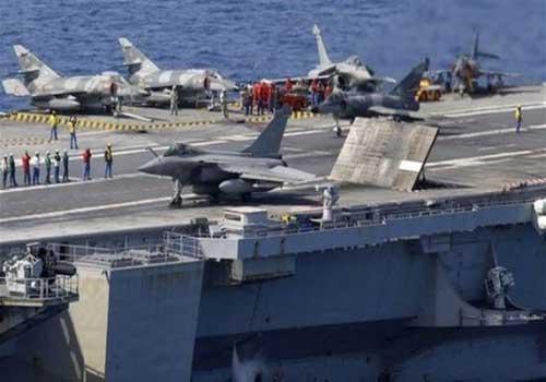 فرنسا ترسل حاملة طائرات لدعم العمليات ضدّ داعش