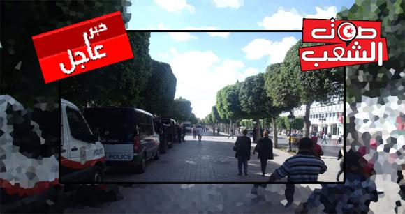 عاجل: إلغاء العروض السينمائية وغلق المحلات بشارع الحبيب بورقيبة