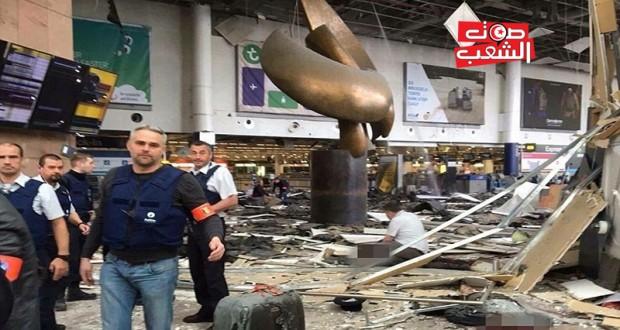 هجمات بروكسل: 34 قتيلاً و135 جريحاً (حصيلة أوليّة)