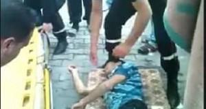 أمام وزارة التشغيل: سقوط أحد المعتصمين ونقله إلى المستشفى