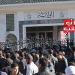 سليانة: وقفة احتجاجية لعمال الحضائر الظرفية للمطالبة بتسوية الوضعيّة