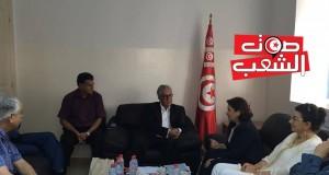 بن سدرين تسلّم حمّة الهمامي دعوة لحضور جلسة استماع لضحايا الانتهاكات
