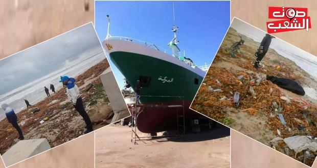 """كارثة غرق """"البركة"""" في سواحل المهدية  8 ضحايا و5 مفقودين وناجيا وحيدا"""