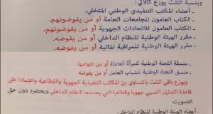 تفاصيل حصرية لصوت الشعب: الفصل العشر من القانون الجديد المثير للجدل