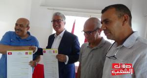 """الجبهة الشعبية توقع اتفاقية شراكة مع جمعية """" وينو التروتوار"""""""