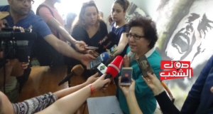 راضية النصراوي تُضرب عن الطّعام احتجاجا على رفع الحماية الأمنيّة عن حمة الهمامي وتصف هذا الإجراء بالعقاب