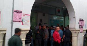 مساكن/عاجل: عمال ستيب الان ينظمون وقفة احتجاجية