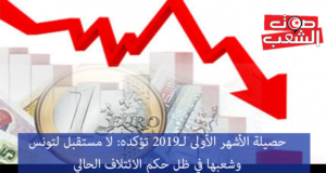 حصيلة الأشهر الأولى لـ2019 تؤكده: لا مستقبل لتونس وشعبها في ظل حكم الائتلاف الحالي