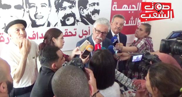 حمّه الهمامي: المصادقة على قانون الانتخابات مهزلة جديدة وبلادنا تتّجه نحو الاستبداد